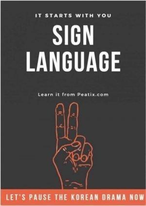 sign lang